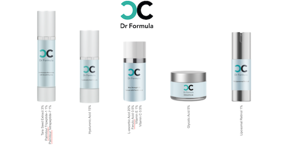 Dr Formula skincare products